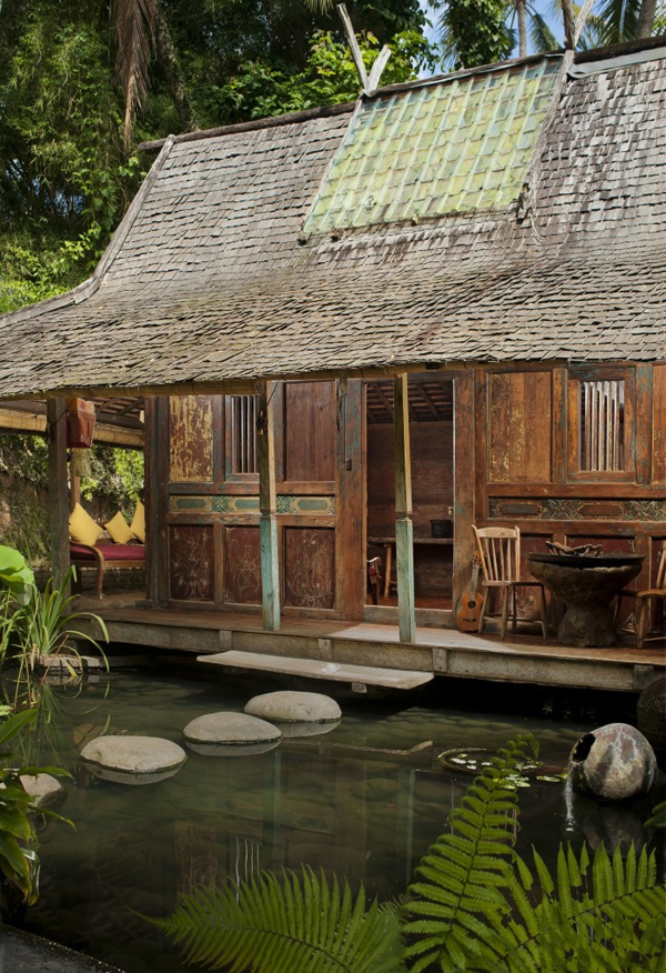 Traditional Bambu Indah Resort In Bali Home Design And Interior