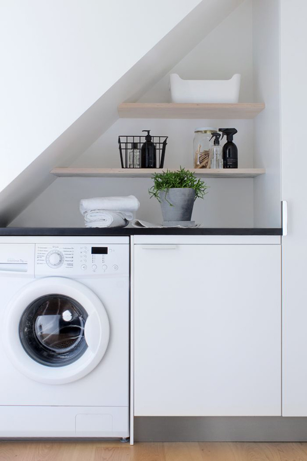 Under stairs laundry spaces - Utility rooms in small spaces gallery ...