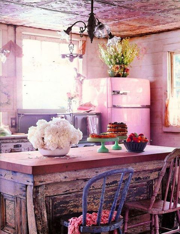 20 Most Amazing Kitchen With Bohemian Vibe | HomeMydesign