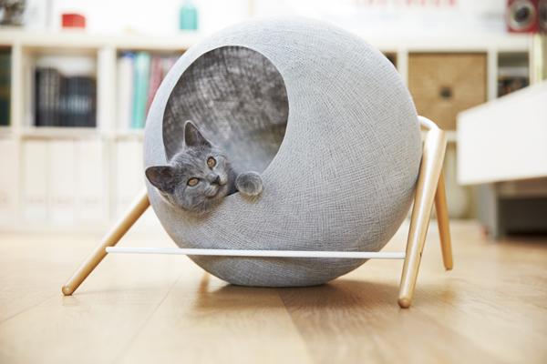 modern cocoon cat furniture by meyou home design and interior. Black Bedroom Furniture Sets. Home Design Ideas