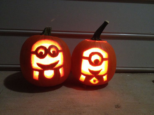 Cool diy minion pumpkins for halloween home design