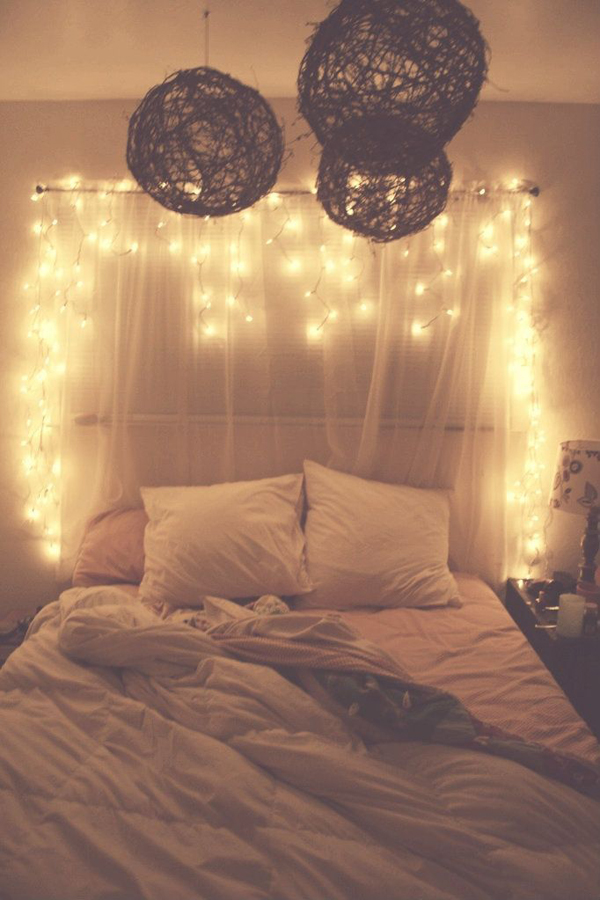 diy-curtain-headboard-with-lights