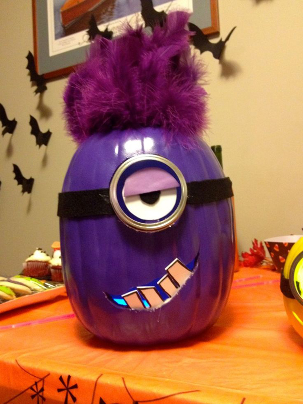 25 Cool Diy Minion Pumpkins For Halloween Home Design