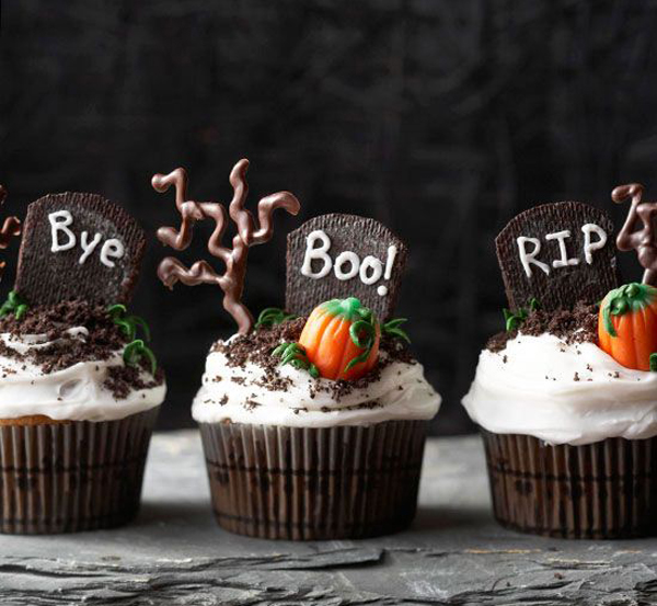 35 delicious halloween cupcake ideas