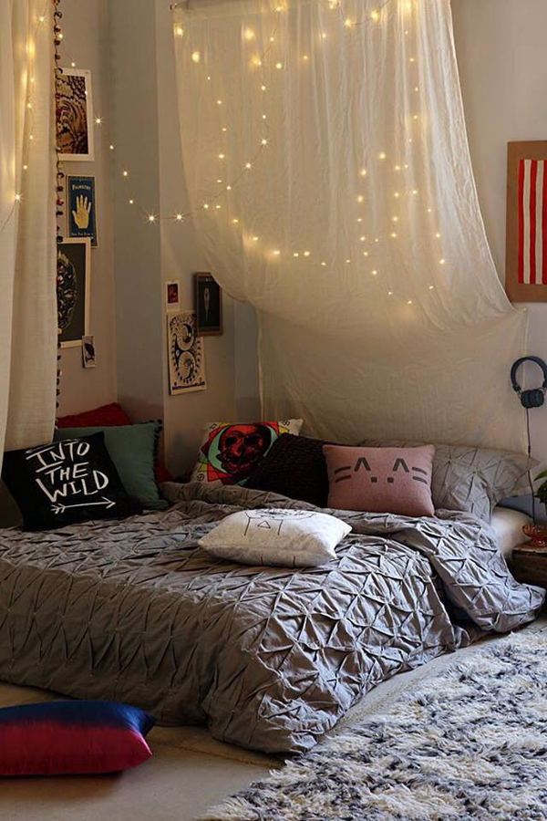 Image Result For Bedroom Ideas Tumblr Christmas Lights