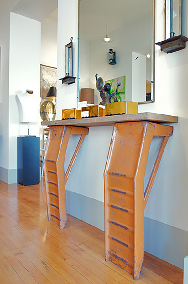 Gallery Of 25 Creative Recycling Automotive Parts Into Furniture