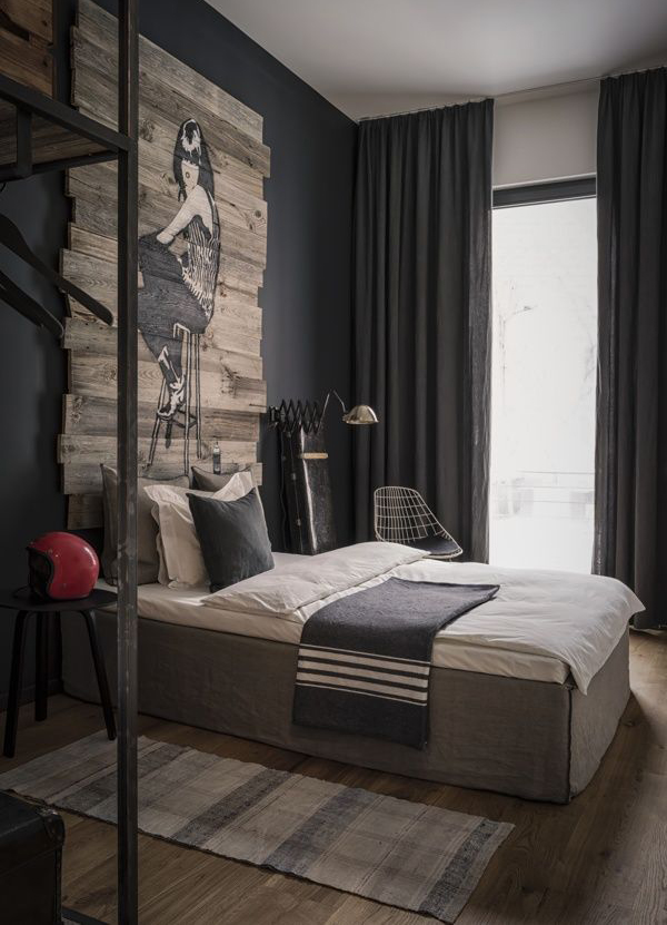 Wall Decor For Masculine Bedroom : Masculine bachelor bedroom ideas home design and interior