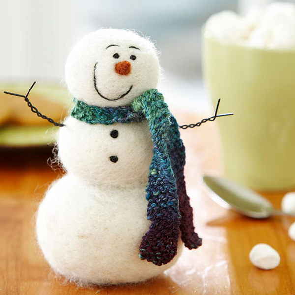 25 Easy DIY Christmas Snowman Crafts
