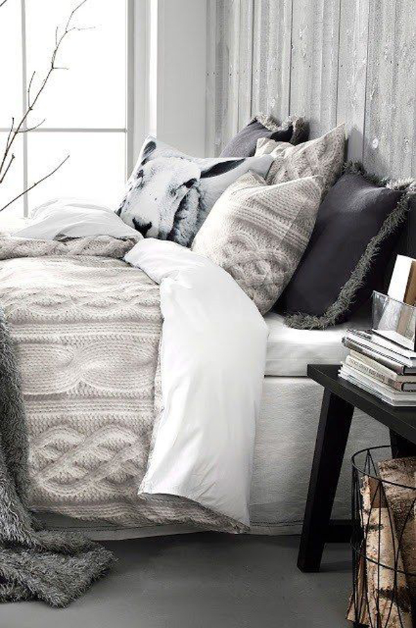 20 Beautiful Winter Bedroom Ideas | Home Design And Interior