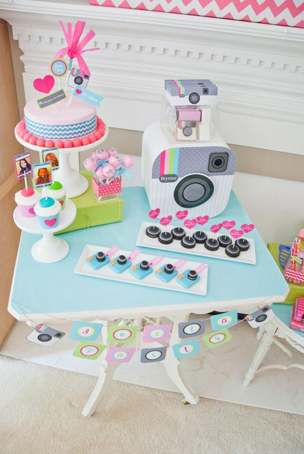 cute-instagram-birthday-party-theme-for-teen-girls
