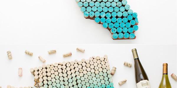 diy-wine-cork-state-wall-art