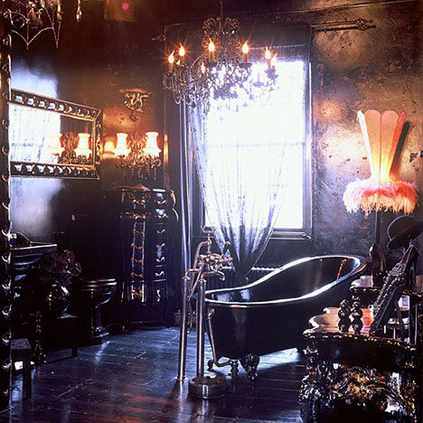 13 Dramatic Gothic Room Design Ideas