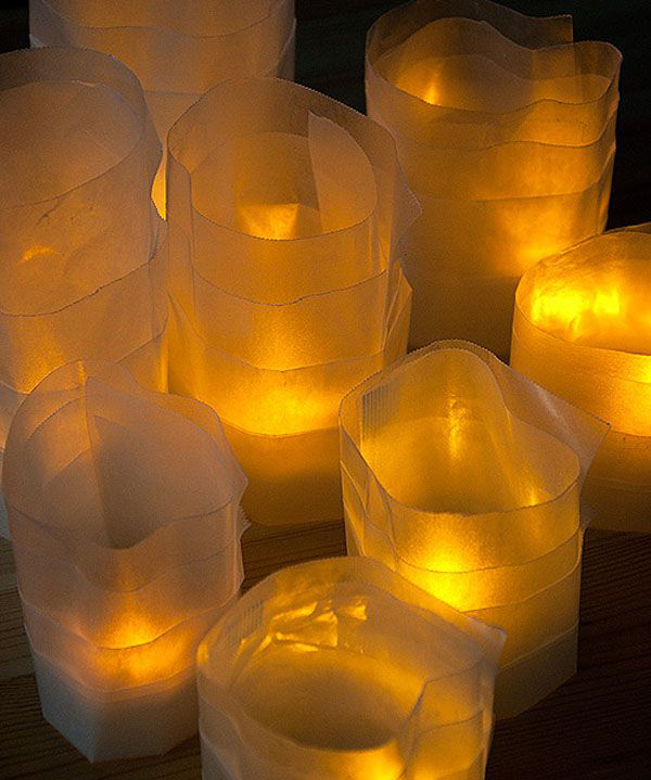 15 diy paper lanterns for christmas projects home design for Homemade luminaries