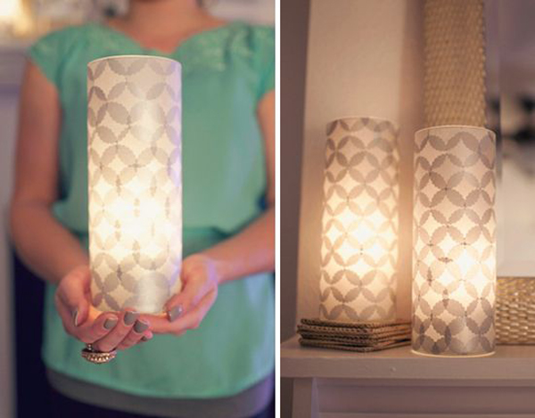 Diy paper lanterns for christmas projects home design