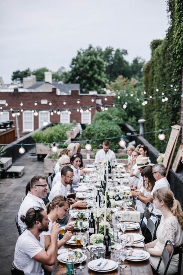 20 Best Rooftop Dinner Party Decorations