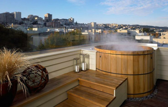 rooftop-with-wooden-hot-tub