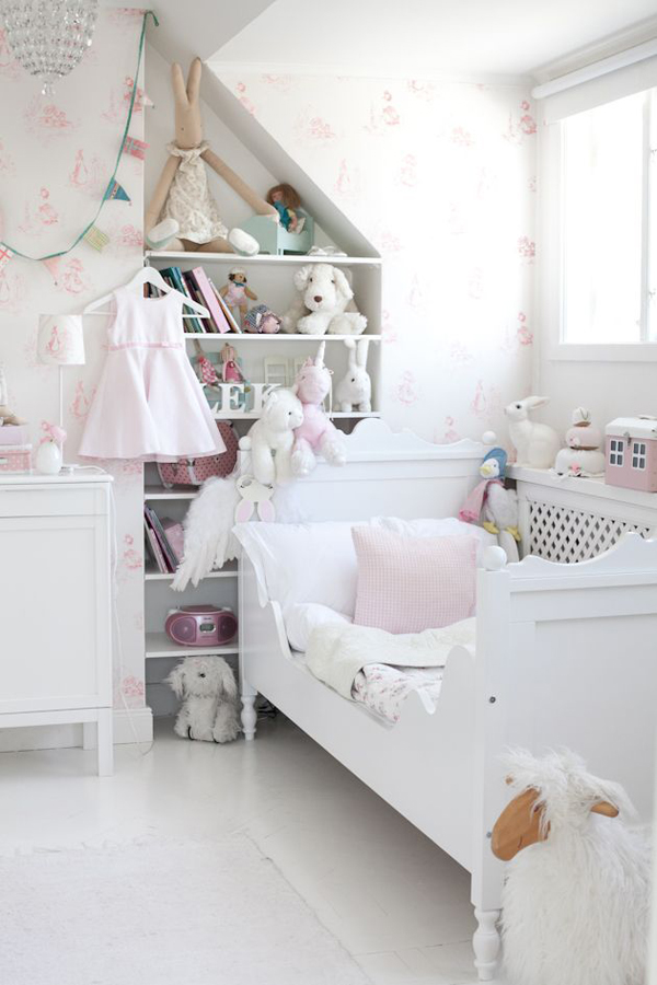 25 shabby chic kids room ideas home design and interior Cute kid room ideas