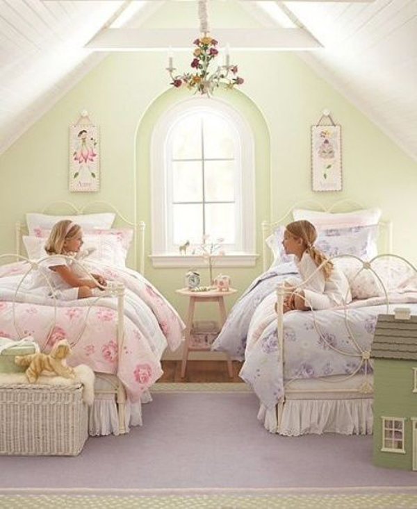shabby-chic-double-kids-bedroom-ideas