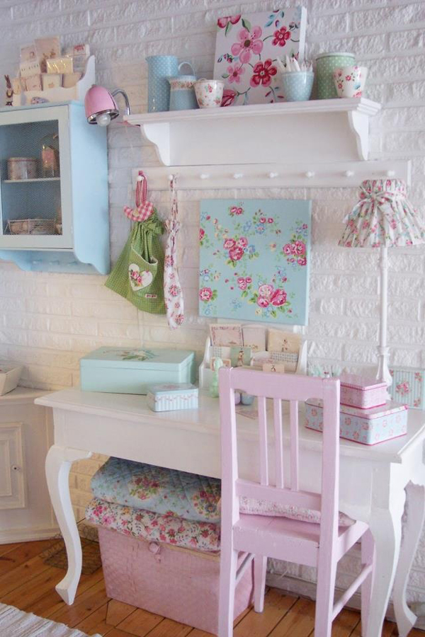 25 shabby chic kids room ideas home design and interior for Shabby chic bedroom furniture