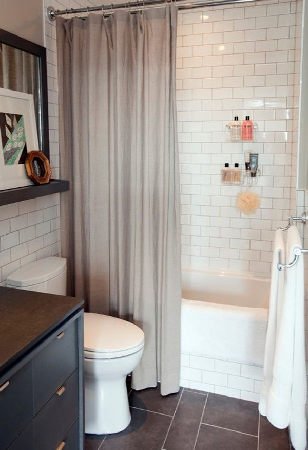 stylish small bathroom styles