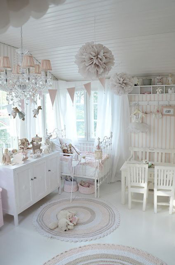 25 shabby chic kids room ideas home design and interior - Shabby Chic Design Ideas