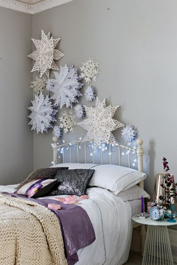 Winter Bedrooms With Star Craft Ideas