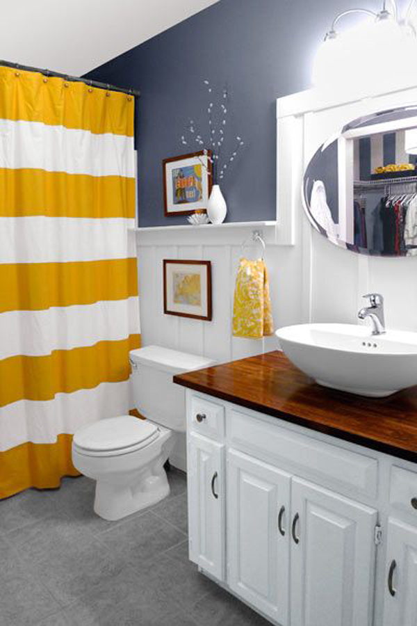 yellow gray and yellow bathroom ideas