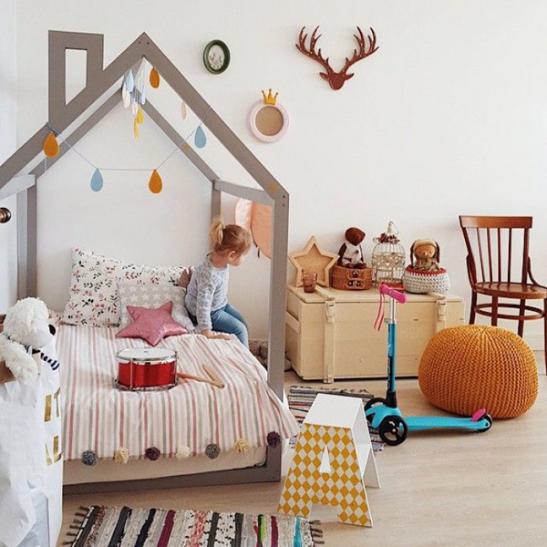 15 Diy Creative House Bed For Kids Room Home Design And