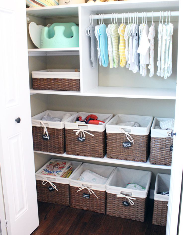 Here Are Some Kids Closet Organization Ideas To Get Rid Of Clutter Organize Clothes And Toys Made What Was An Eyesore Be More Beautiful