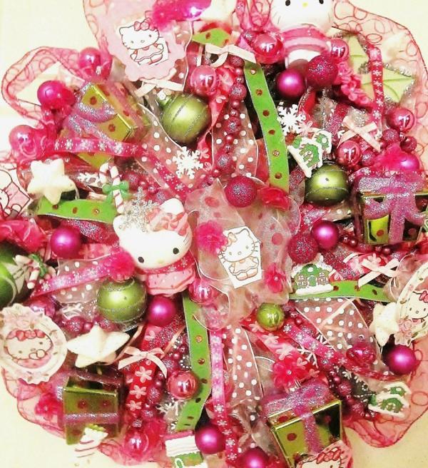 Hello Kitty Home Decor: 20 Pretty Christmas Decor With Hello Kitty Theme