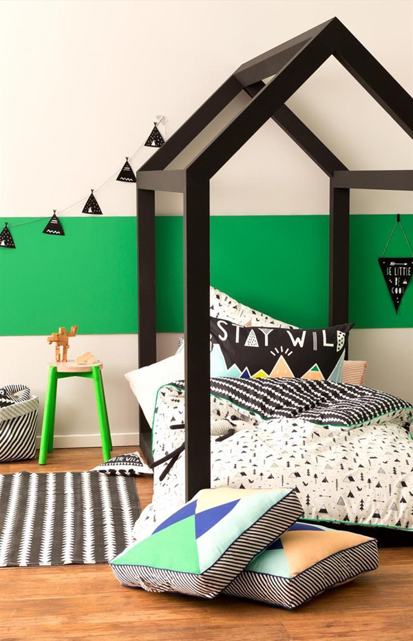 Cool house bed for boys - Cool diy bed frames ...