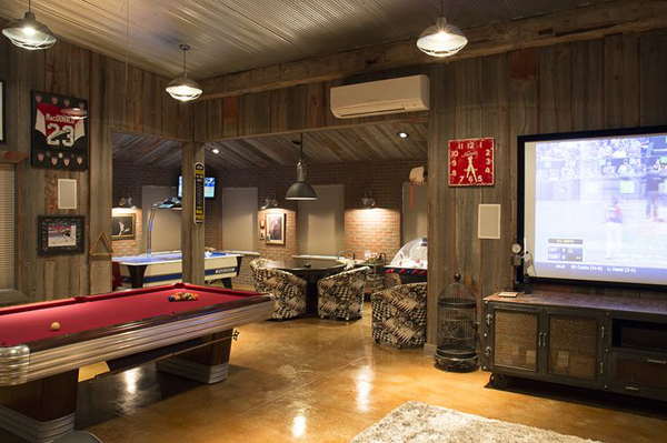 best garage business ideas - country garage man cave ideas