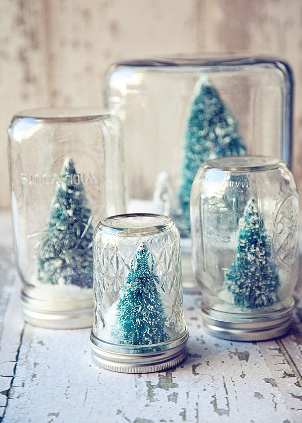 25 Cool DIY Mason Jar Christmas Ideas | Home Design And Interior