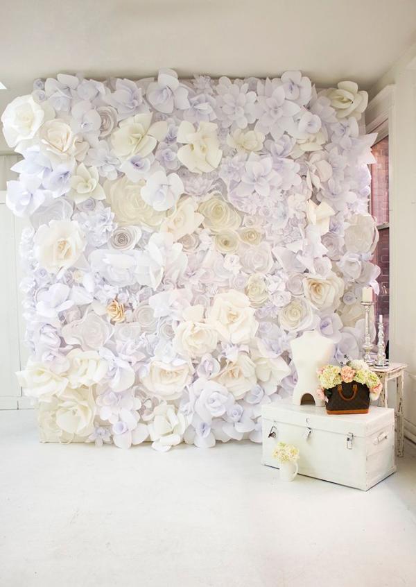 Diy paper flower backdrop ideas mightylinksfo