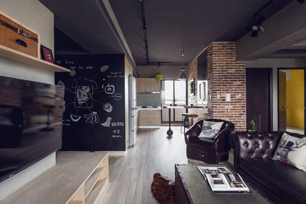 industrial-bachelor-pad-living-rooms