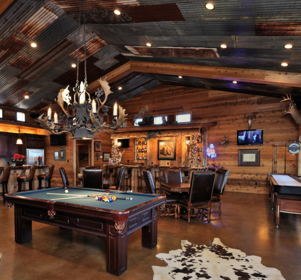 Man Cave Bar Games : Cool garage man cave ideas home design and interior