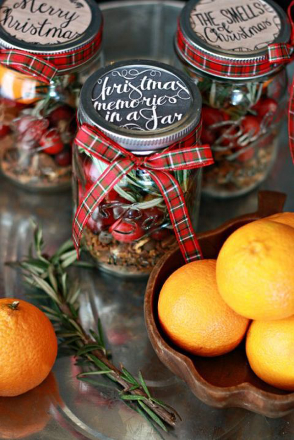 25 Cool DIY Mason Jar Christmas Ideas HomeMydesign