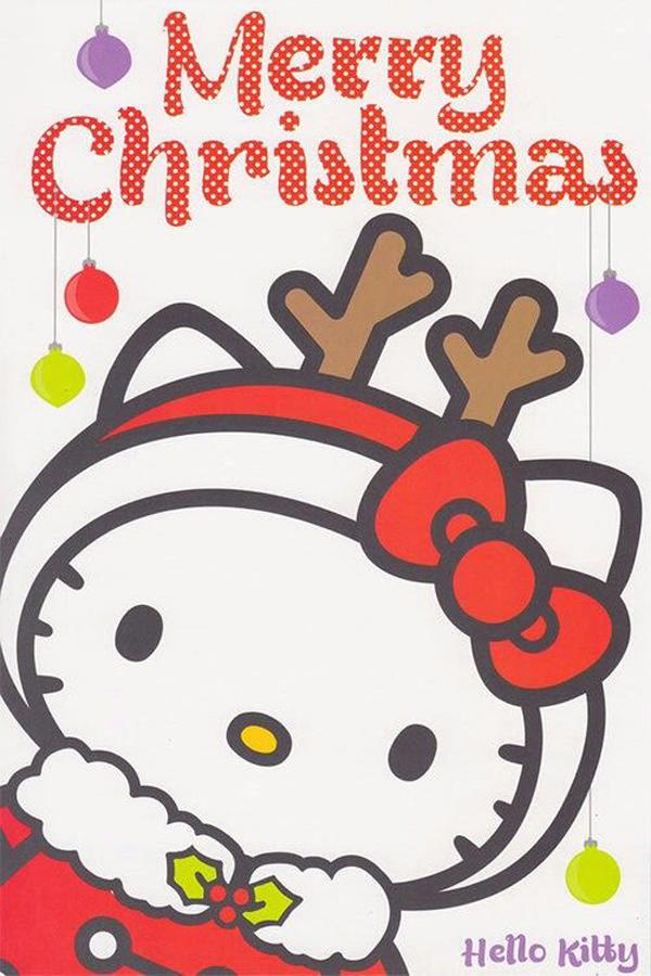 Hello Kitty Christmas Tree Ornaments