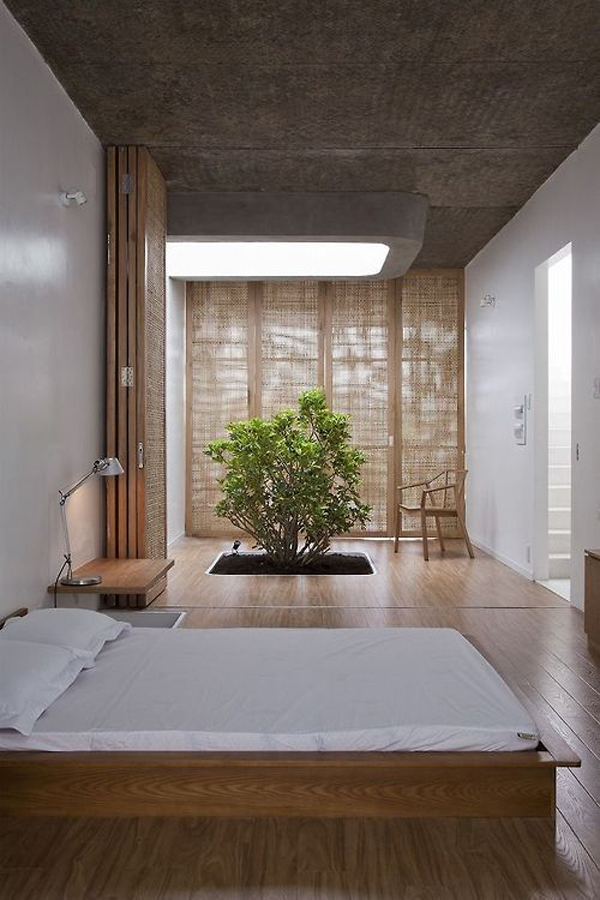 20 asian bedroom style with zen elements home design and for Minimalist style bedroom