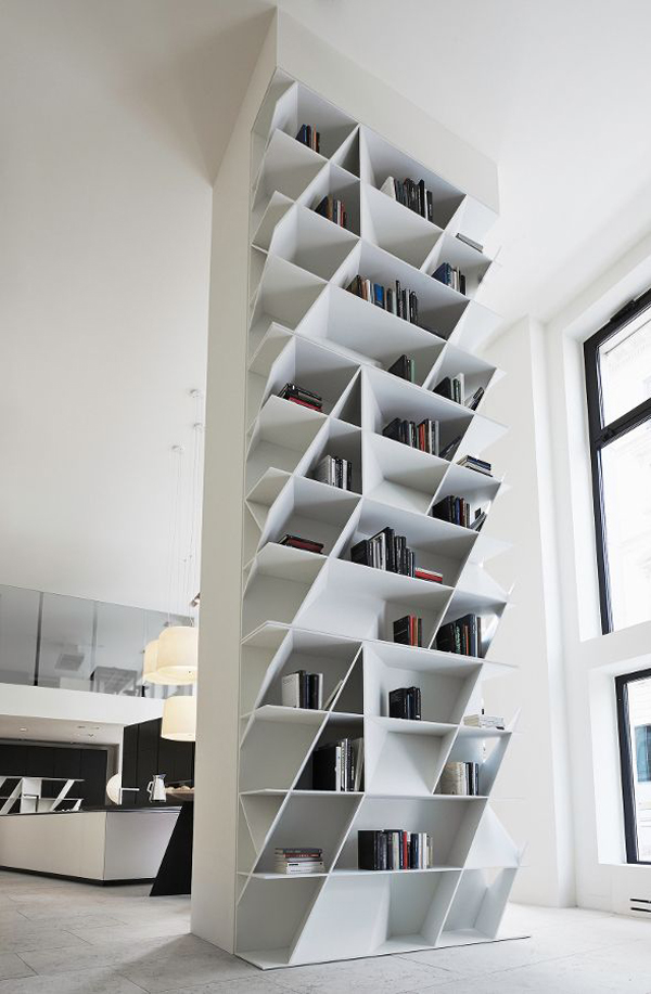 Modern And Stylish Bookcase For Every Room Home Design