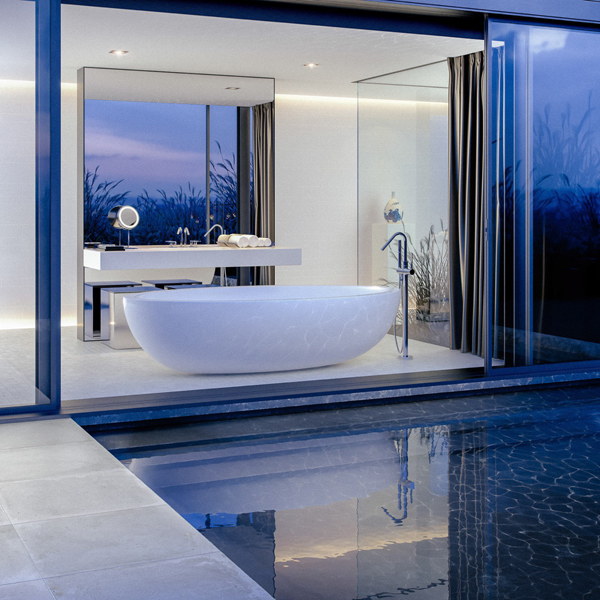 modern-poolside-bathtub-ideas | Home Design And Interior on pool side restaurant design, pool side shower design, pool side outdoor kitchens, pool side landscaping ideas, swimming pool bathroom design, pool side wall design, pool house plans with bathroom, pool side decor, pool side furniture,