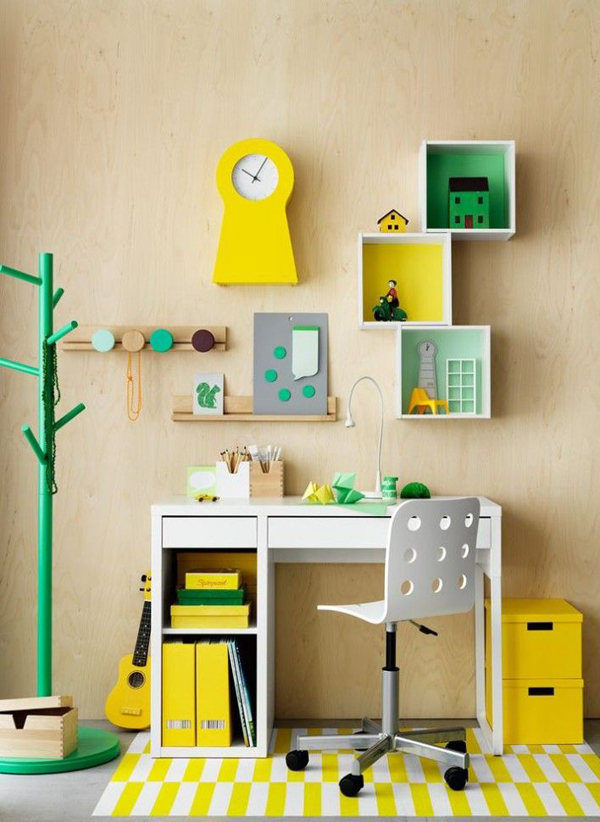 How To Design A Workspace At Home: 10 Modern And Minimalist Workspace For Kids