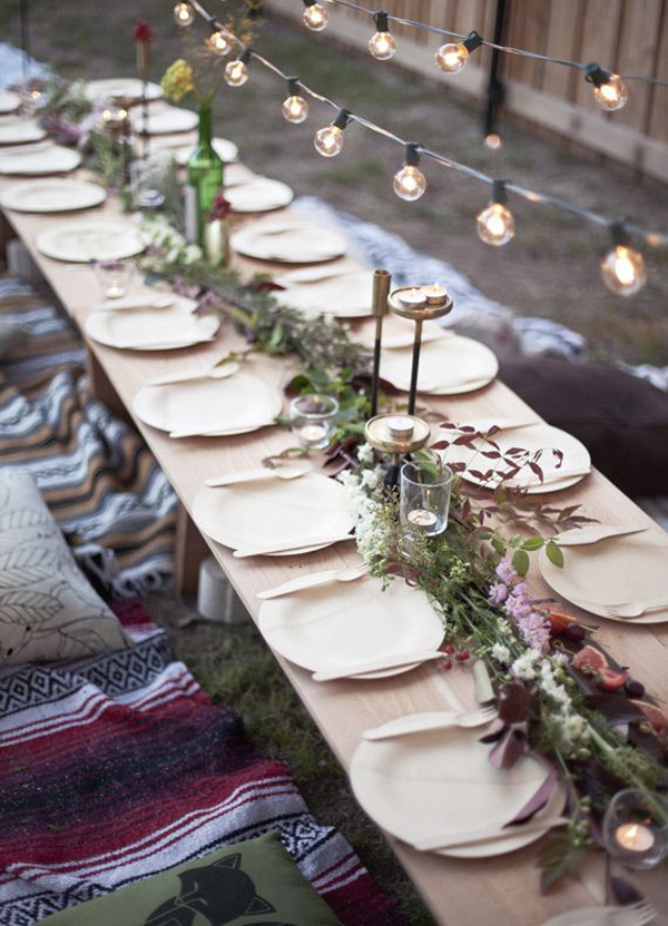 15 Christmas Table Decorations With Natural Styles Home