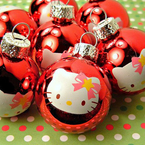 Red Hello Kitty Christmas Ornament Home Design And Interior