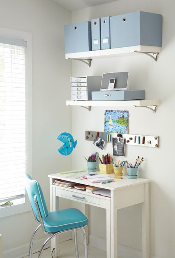 10 Modern And Minimalist Workspace For Kids Home Design