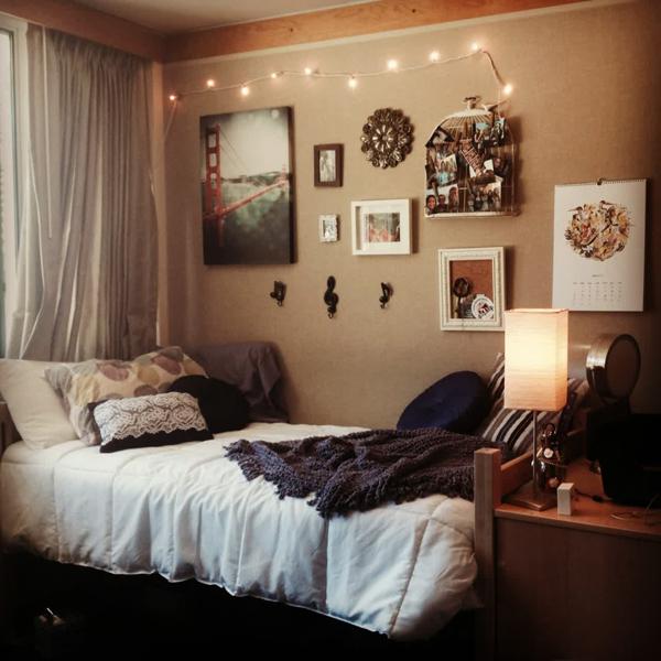 University Student Bedroom Ideas