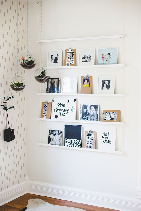 Cool Ideas To Display Family Photo Walls