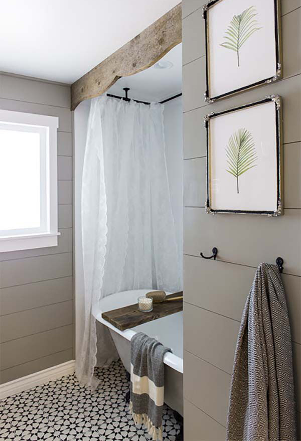 20 Cozy And Beautiful Farmhouse Bathroom Ideas : Home Design And Interior