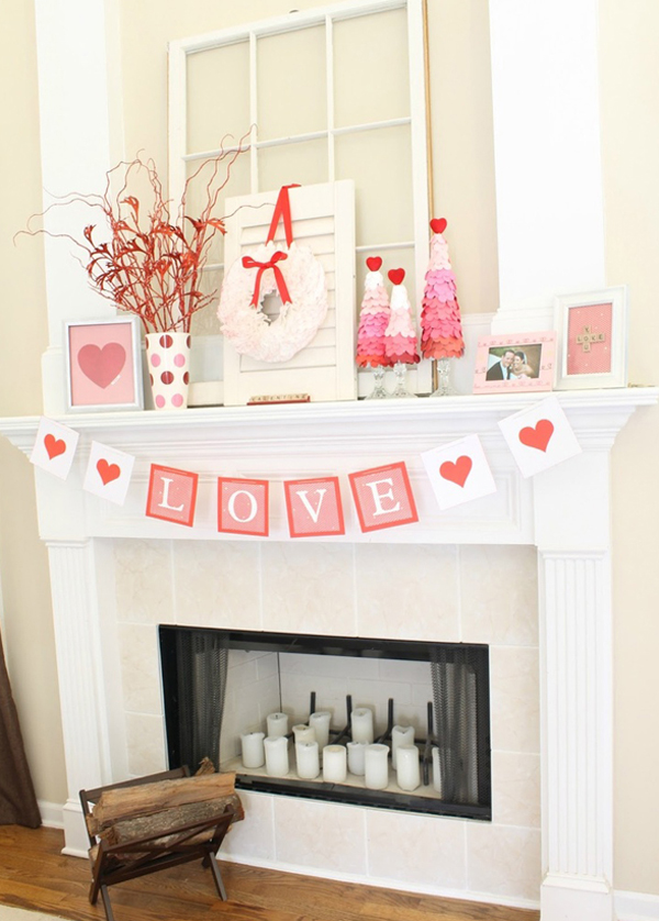 cute-and-simple-valentine-mantel-decor-ideas