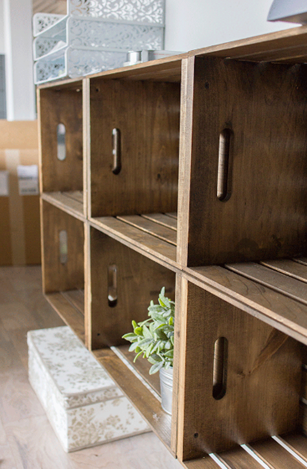 20 Rustic DIY Wooden Crate Ideas | Home Design And Interior